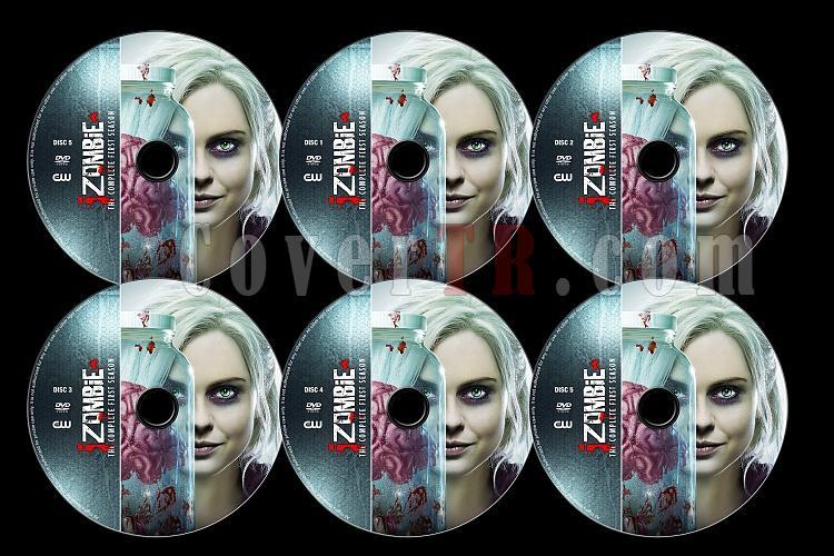 iZombie (Season 1) - Custom Dvd Label Set - English [2015]-izombie-label-setjpg
