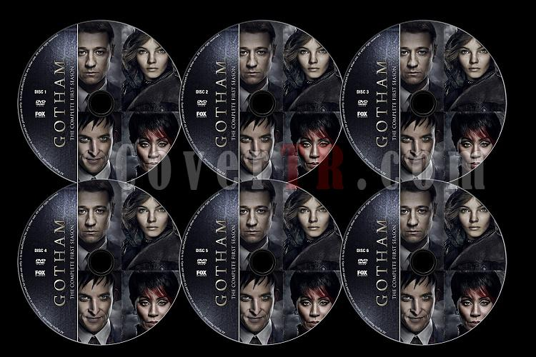 Gotham (Season 1) - Custom Dvd Label Set - English [2014]-untitled-2jpg