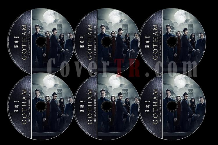 Gotham (Season 3) - Custom Dvd Label Set - English [2016]-untitled-4jpg