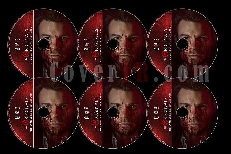 The Originals (Season 3) - Custom Dvd Label Set - English [2015]-originals-season-3-previewjpg