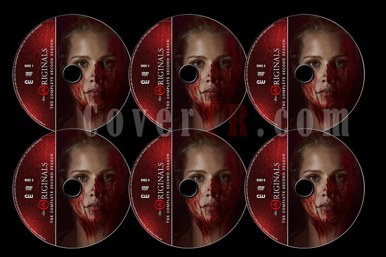 The Originals (Season 2) - Custom Dvd Label Set - English [2014]-originals-season-2-previewjpg
