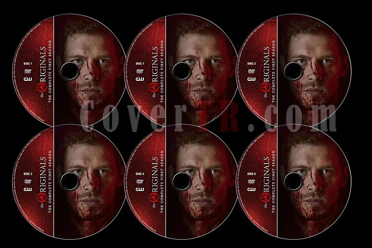 The Originals (Season 1) - Custom Dvd Label Set - English [2013]-originals-season-1-previewjpg