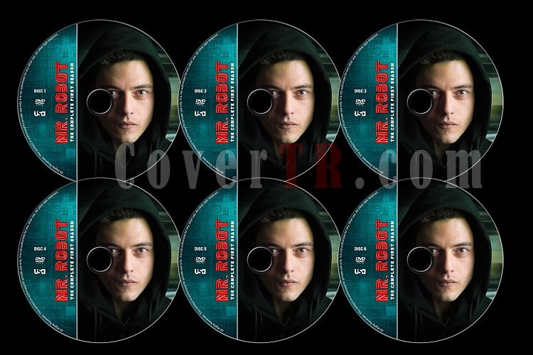 Mr. Robot (Season 1) - Custom Dvd Label Set - English [2015]-mr-robot-season-1-previewjpg