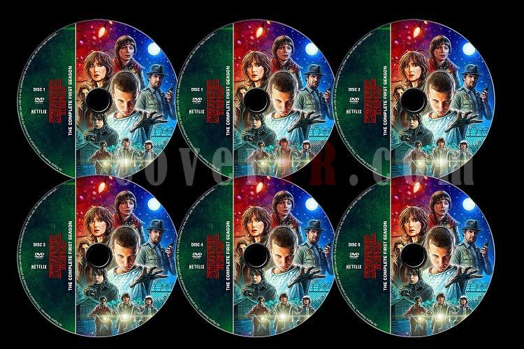 Stranger Things (Season 1) - Custom Dvd Label Set - English [2016]-stranger-things-season-1-previewjpg