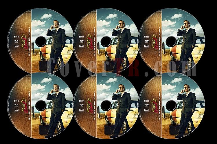 Better Call Saul (Season 1) - Custom Dvd Label Set - English [2015]-better-call-saul-season-1jpg