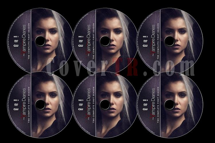 The Vampire Diaries (Season 1) - Custom Dvd Label Set - English [2009]-tvd1jpg