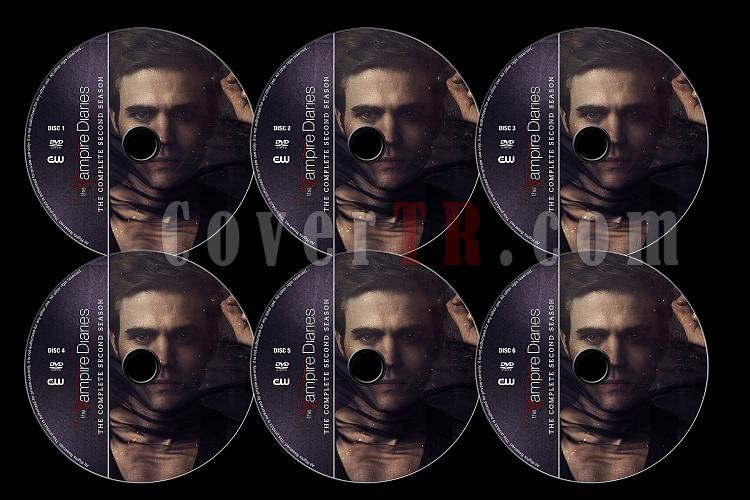 The Vampire Diaries (Season 2) - Custom Dvd Label Set - English [2010]-tvd2jpg