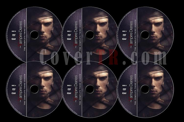 The Vampire Diaries (Season 3) - Custom Dvd Label Set - English [2011]-tvd3jpg