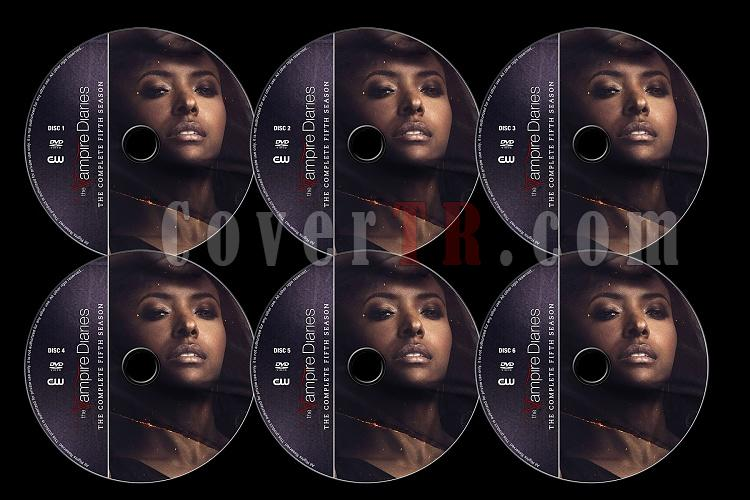 The Vampire Diaries (Season 5) - Custom Dvd Label Set - English [2013]-tvd5jpg