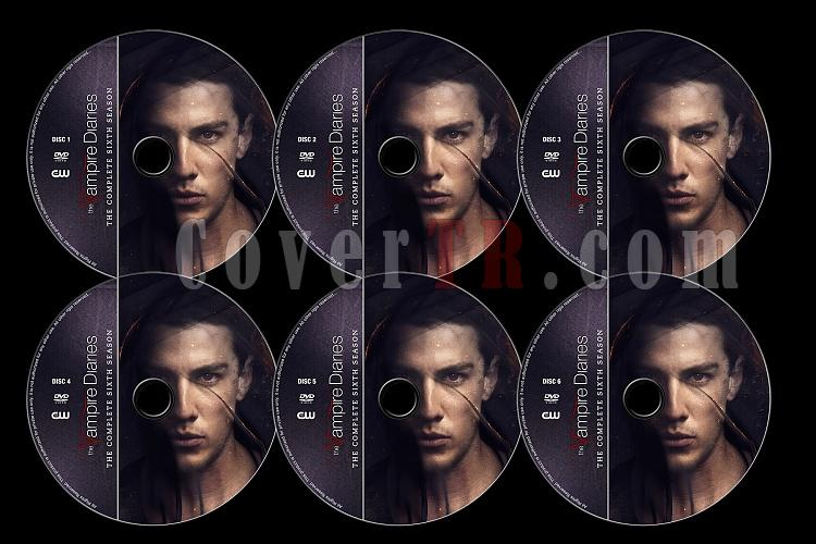 The Vampire Diaries (Season 6) - Custom Dvd Label Set - English [2014]-tvd6jpg