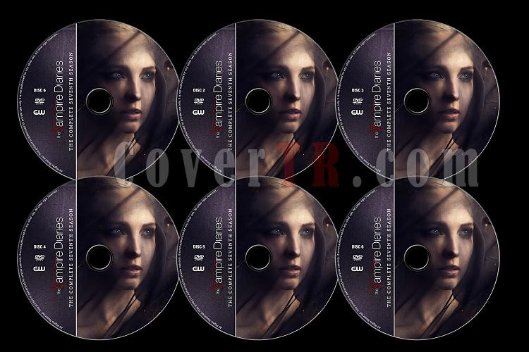 The Vampire Diaries (Season 7) - Custom Dvd Label Set - English [2015]-tvd7jpg