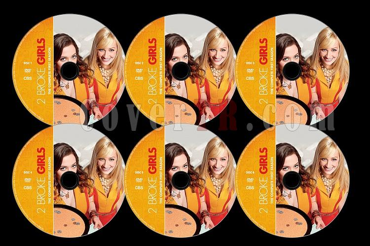 2 Broke Girls (Season 1) - Custom Dvd Label Set - English [2011]-2b1jpg