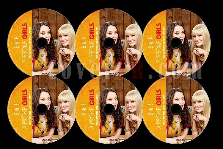 2 Broke Girls (Season 2) - Custom Dvd Label Set - English [2012]-2b2jpg