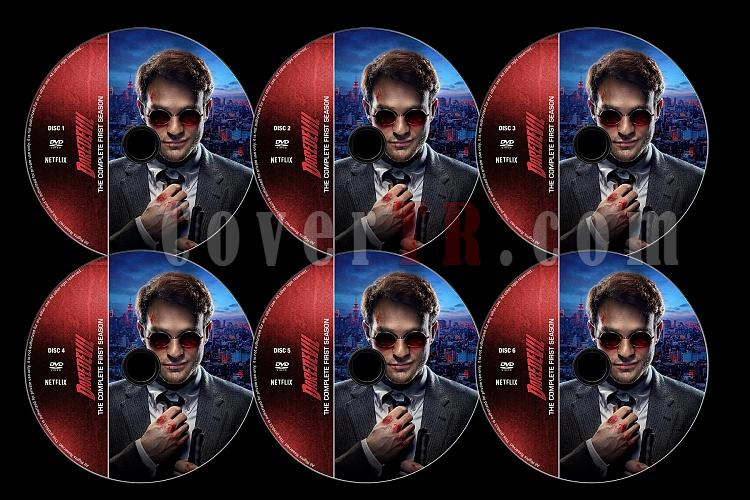 Daredevil (Season 1) - Custom Dvd Label Set - English [2015]-d01jpg