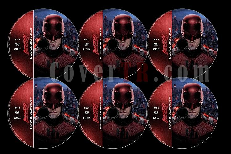 Daredevil (Season 2) - Custom Dvd Label Set - English [2015]-d02jpg