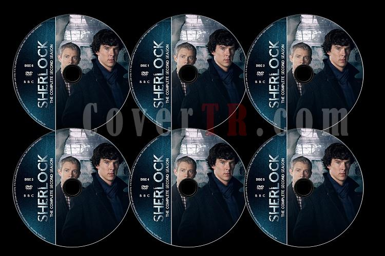 Sherlock (Season 2) - Custom Dvd Label Set - English [2012]-s02jpg