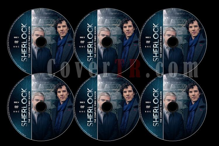 Sherlock (Season 3) - Custom Dvd Label Set - English [2014]-s03jpg
