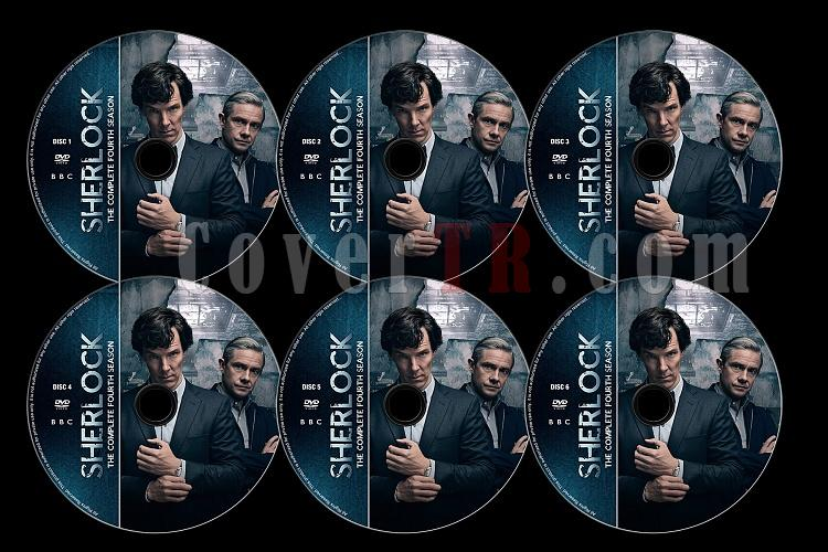 Sherlock (Season 4) - Custom Dvd Label Set - English [2017]-s04jpg