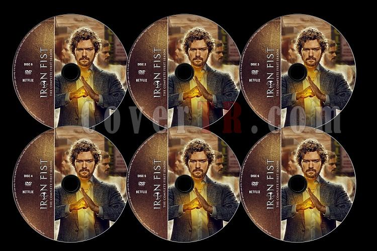 Iron Fist (Season 1) - Custom Dvd Label Set - English [2017-?]-alljpg