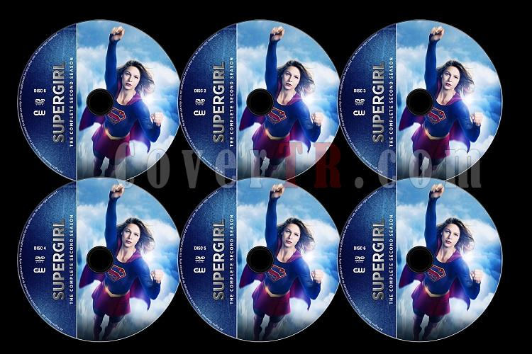 Supergirl (Season 2) - Custom Dvd Label Set - English [2016-2017]-supergirl0jpg