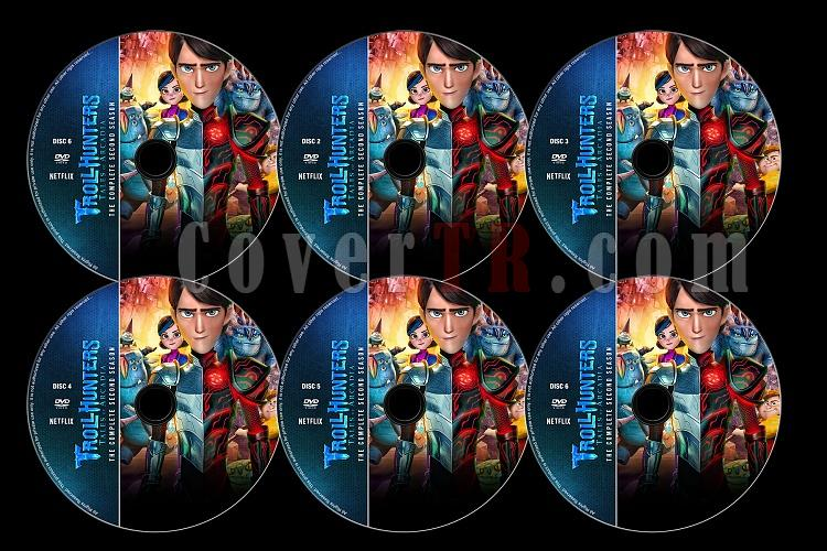 Trollhunters (Season 2) - Custom Dvd Label Set - English [2017]-2jpg