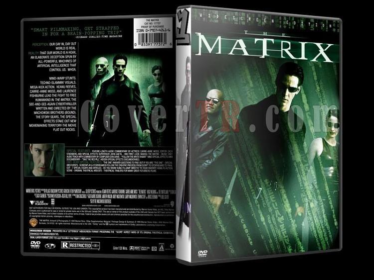 MATRİX METRİX - Custom Dvd Cover Set - English [1999]-matrixjpg