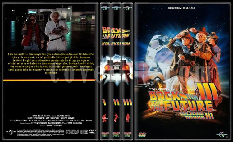 Back to the Future - Geleceğe Dönüş - DVD Cover Set Deneme-standard-3-season-flatjpg