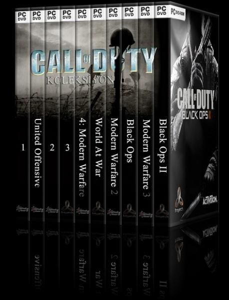 Call of Duty Collection - DVD Cover Set - Deneme-djpg