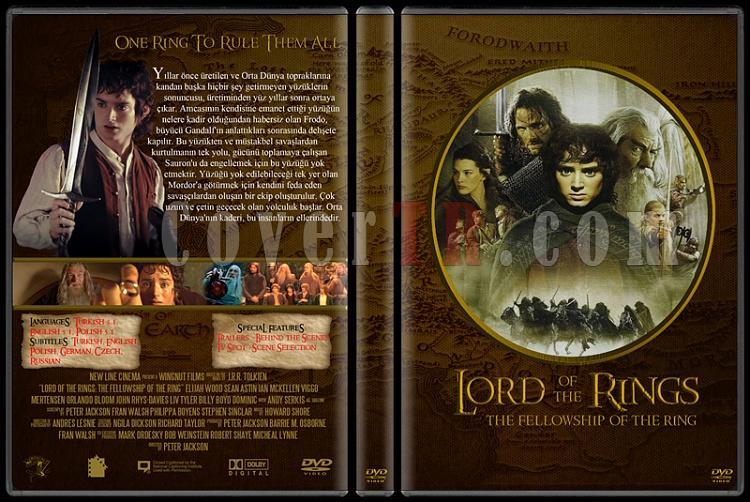 Lord of the Rings DVD Cover Set (Deneme)-10jpg