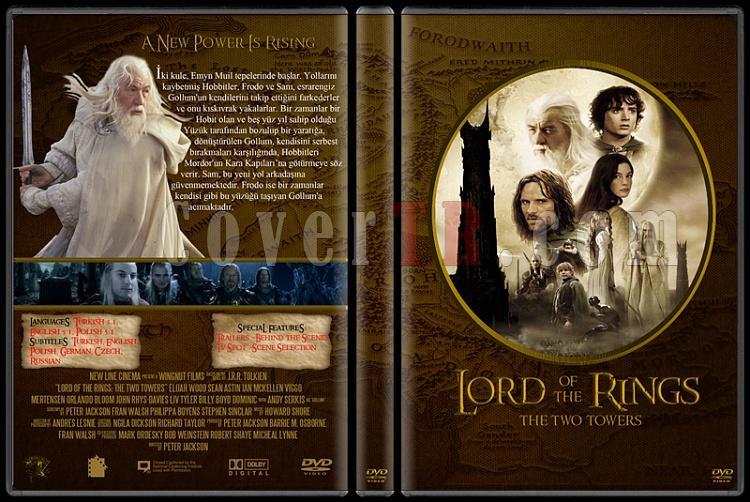 Lord of the Rings DVD Cover Set (Deneme)-22jpg