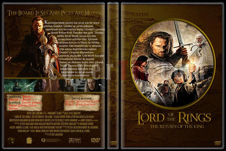 Lord of the Rings DVD Cover Set (Deneme)-33jpg