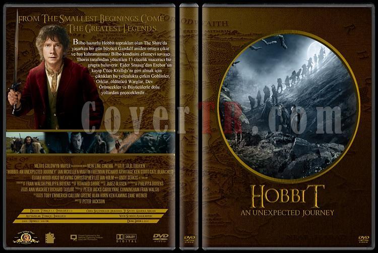 Lord of the Rings DVD Cover Set (Deneme)-500jpg