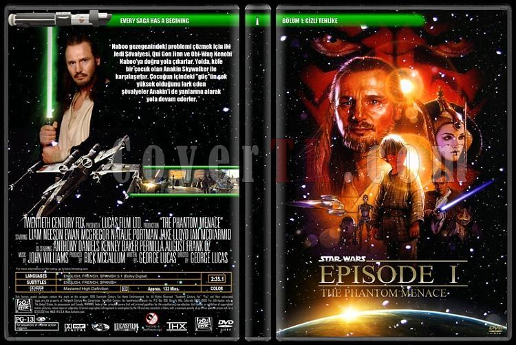 Star Wars - DVD Cover Set-tajpg