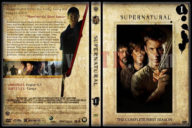 Supernatural - DVD Cover Set (Deneme)-gzjpg