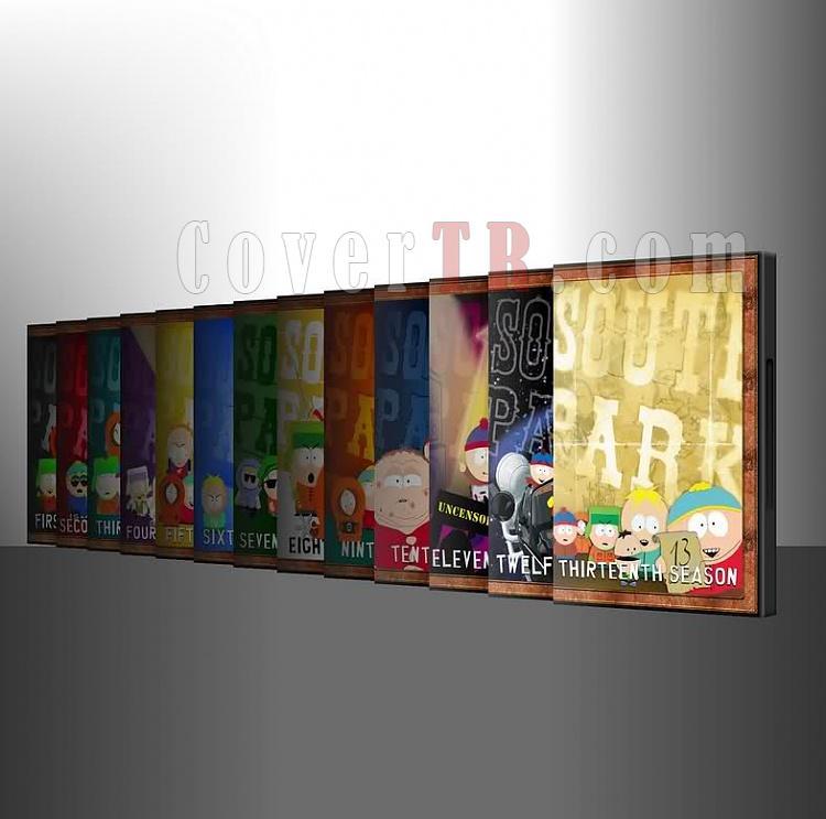 South Park Coverset Çalışmam-3jpg