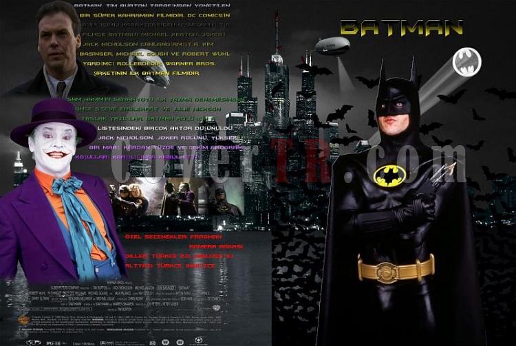 Batman - DVD Cover Set-batman-dvd-cover-turkcejpg
