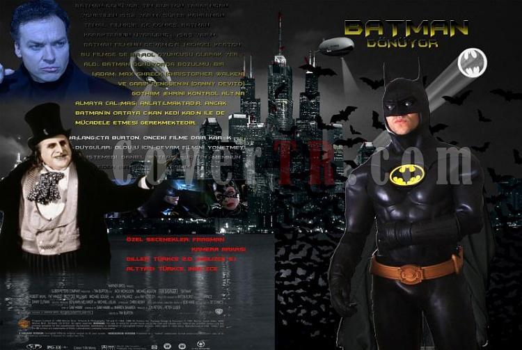 Batman - DVD Cover Set-batman-donuyor-dvd-cover-turkcejpg