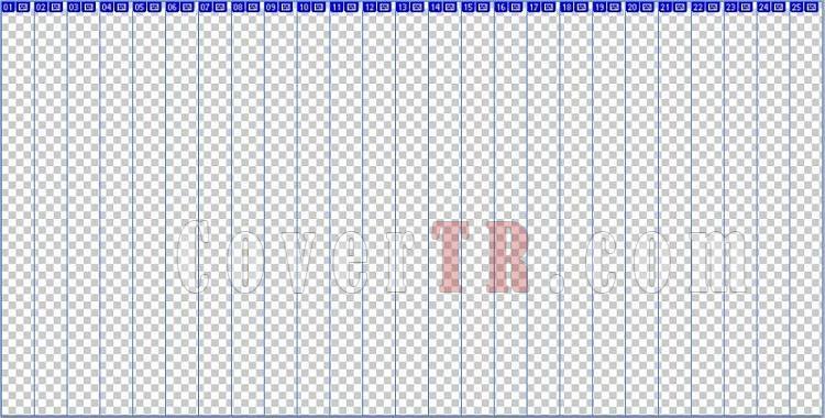 11.8 mm (Blu-Ray) 25'li Spine (boş)-capsjpg