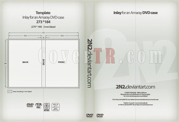 dvd cover template psd covertr