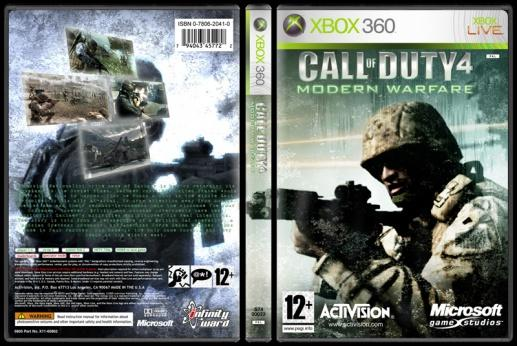 Call of Duty 4: Modern Warfare - Custom Xbox 360 Cover - English [2007]-1jpg