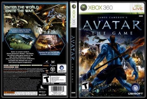 James Cameron's Avatar: The Game - Scan Xbox 360 Cover - English [2009]-james-camerons-avatar-game-scan-xbox-360-cover-picjpg