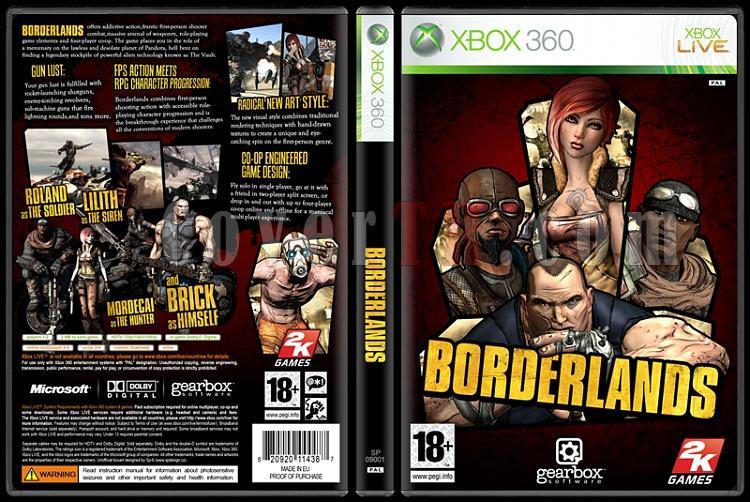 Borderlands - Custom Xbox 360 Cover - English [2009]-onizlemejpg
