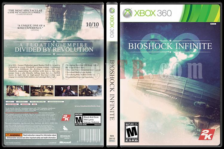 BioShock: Infinite - Custom Xbox 360 Cover - English [2013]-onizlemejpg