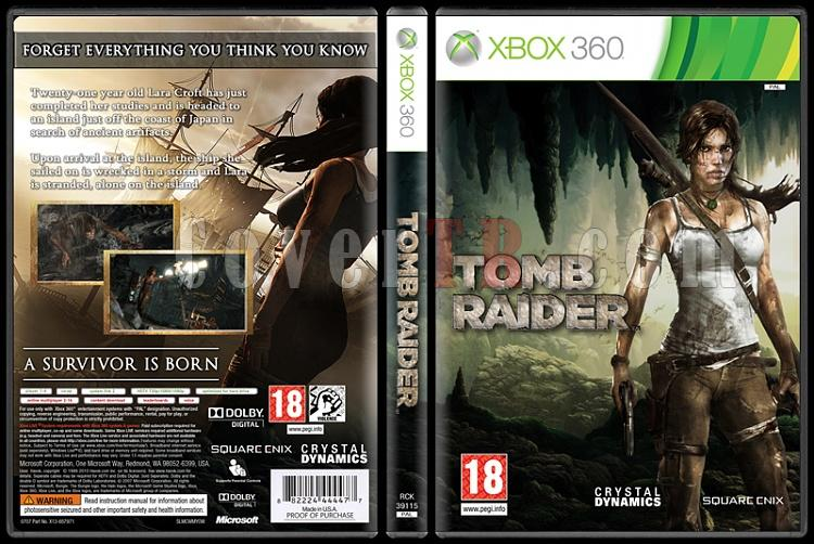 Tomb Raider - Custom Xbox 360 Cover - English [2013]-onizlemejpg