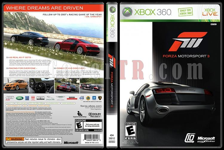 Forza Motorsport 3 - Custom Xbox 360 Cover - English [2009]-forza-motorsport-3-custom-xbox-360-cover-english-2009jpg