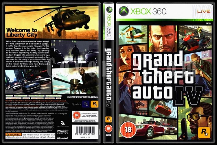 Grand Theft Auto IV - Scan Xbox 360 Cover - English [2008]-grand-theft-auto-ivjpg
