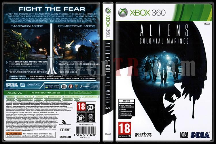 Aliens: Colonial Marines - Scan Xbox 360 Cover - English [2013]-aliens-colonial-marinesjpg