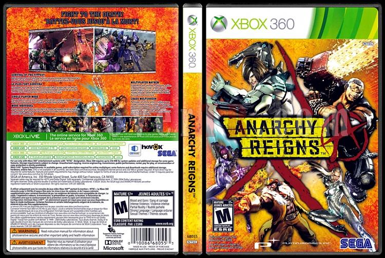 Anarchy Reigns - Scan Xbox 360 Cover - English [2013]-anarchy-reignsjpg