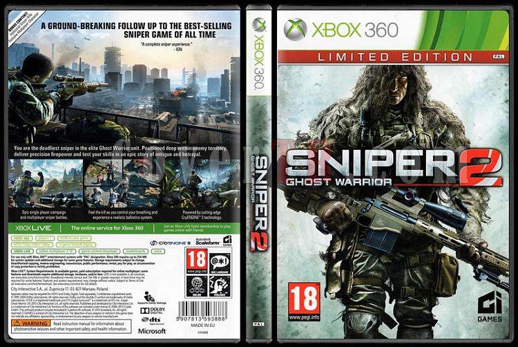 Sniper: Ghost Warrior 2 (Limited Edition) - Scan Xbox 360 Cover - English [2013]-sniper-ghost-warrior-2-limited-edition-scan-xbox-360-coverjpg