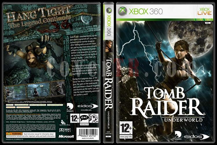 Tomb Raider: Underworld - Custom Xbox 360 Cover - English [2008]-tomb-raider-underworldjpg